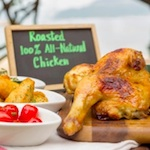 CR Roasted All-Natural Chicken